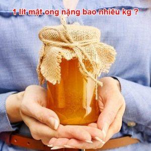 Khối lượng riêng của mật ong bạc hà