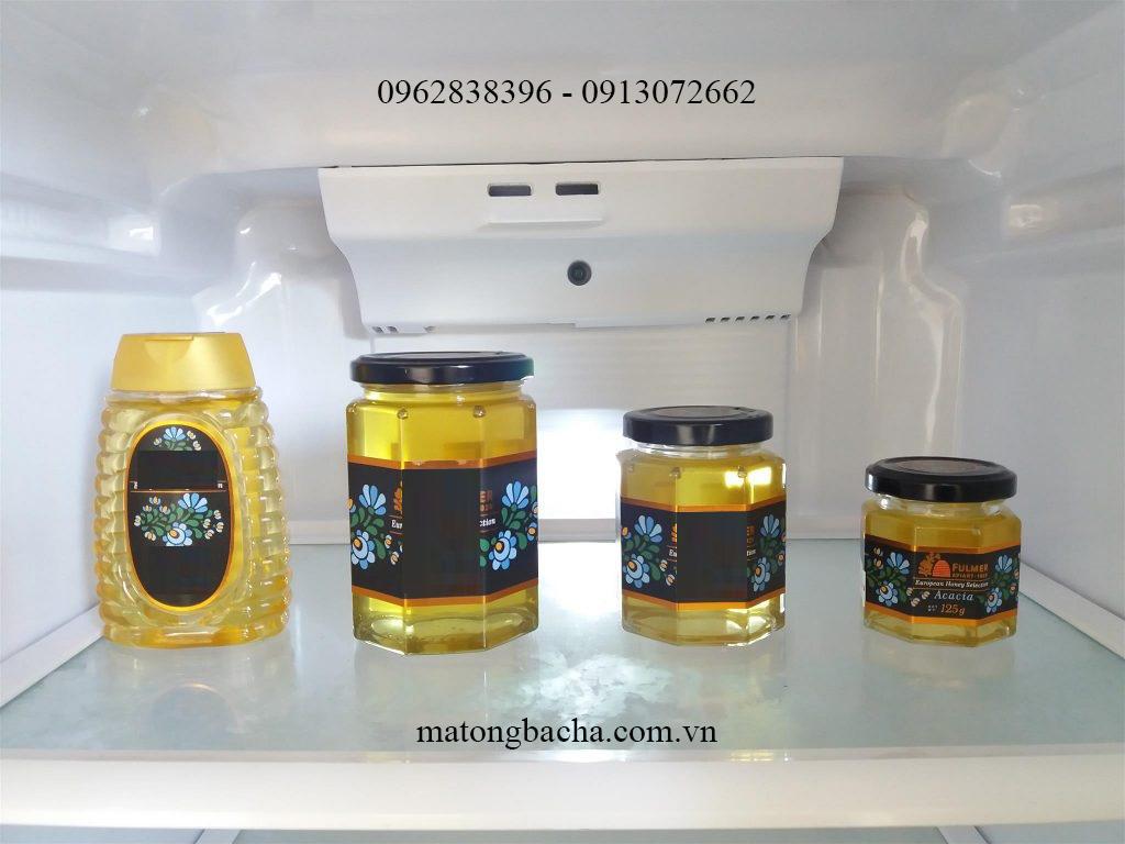 Bảo quản mật ong bạc hà trong tủ lạnh không ảnh hưởng tới chất lượng