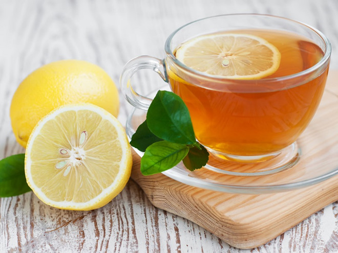 Sử dụng mật ong bạc hà và chanh giúp giảm cân hiệu quả.
