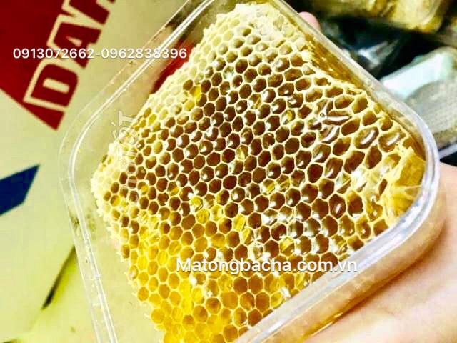 Mật ong bạc hà nguyên sáp dùng để làm gì