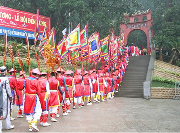 Lễ Hội Đền Hùng là Quốc Giỗ của toàn dân tộc Việt Nam.