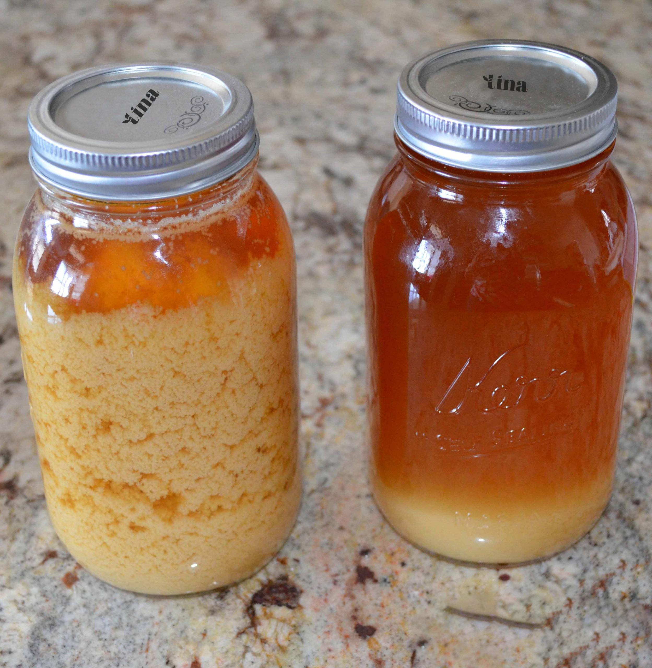 Mật ong bị đóng đường do hàm lượng đường Glucoser bão hòa 70% tạo nên hạt kết tinh.