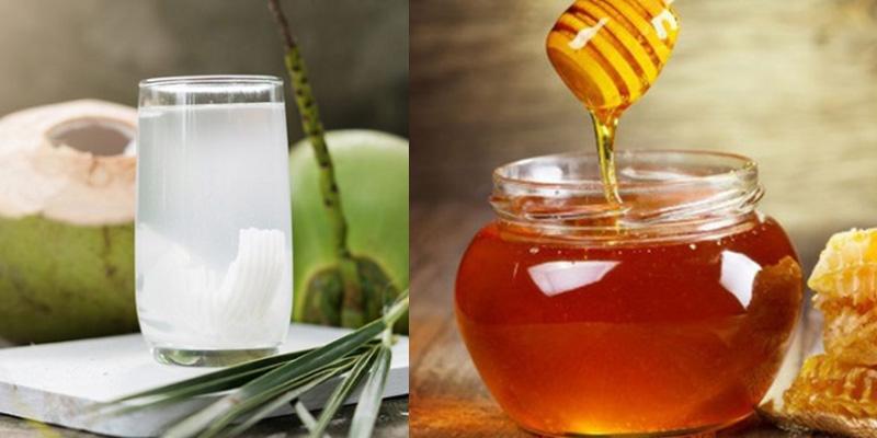 Tác dụng tuyệt vời của nước dừa pha với mật ong